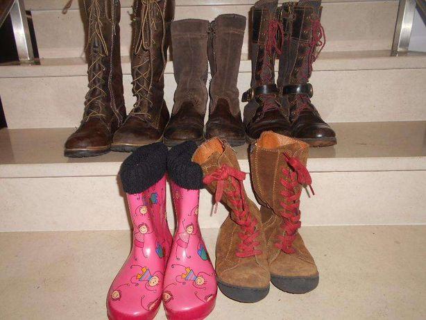 5 pares de botas Thimberland 33 a 35,5