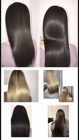 Кератиновое выпрямление ботокс для волос