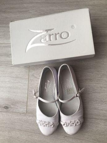 Sprzedam buty komunijne ze skóry Zarro r.37