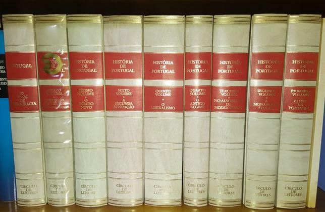História de Portugal - Edição de Círculo dos Leitores