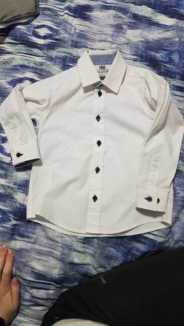 Идеально белая рубашка, біла сорочка