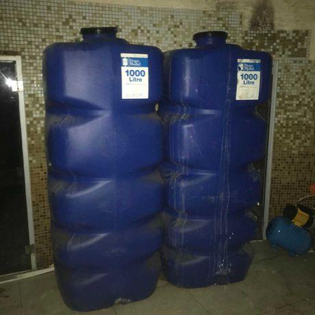 Емкость для воды бак бочки 1000л пластиковый