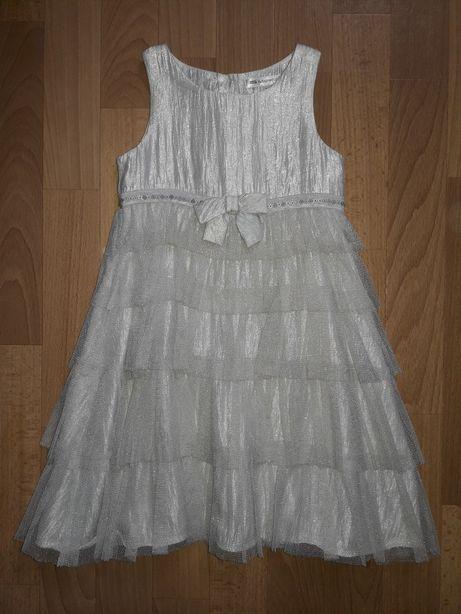 платье нарядное праздничное на девочку 4-5л р.104-110 см