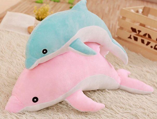 Дельфин ленивец мишка мягкая игрушка плюшевая игрушка