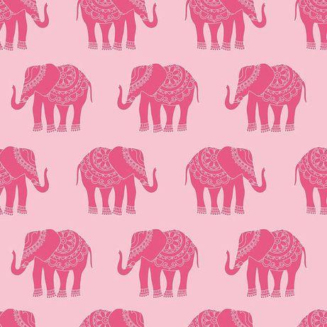 1mb Tkanina bawełniana słoniki Riley Blake