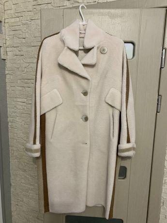 Шикарное женское пальто евро зима