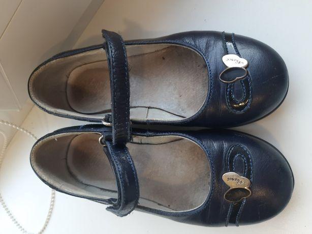 Кожаные туфли Каприз 27р.