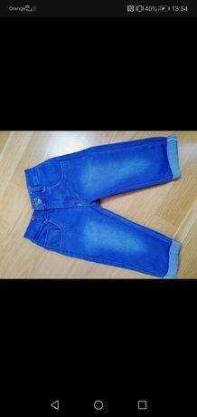 Spodnie jeansowe rozmiar 80