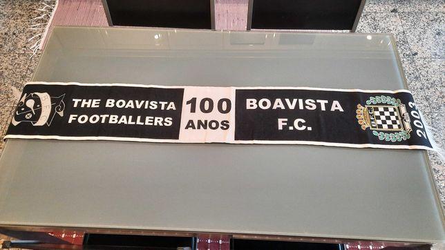 Cachecol comemorativo dos 100 anos do Boavista Futebol Club