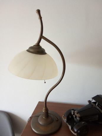 Lampa stołowa mosiądz cena 269zł