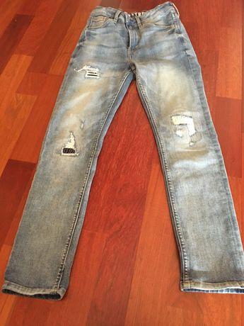 Spodnie jeansowe chłopięce 146 H&M  10/11 lat
