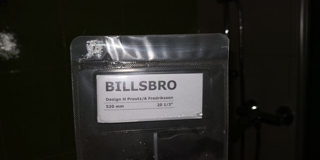 BILLSBRO, Uchwyt, stalowy 520 mm
