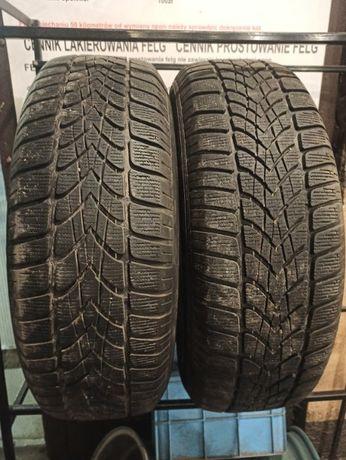 225/65R17 Dunlop Winter Sport 4D dwie opony zimowe