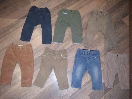 Штаны на мальчика 6-9 месяцев,брюки джинсы