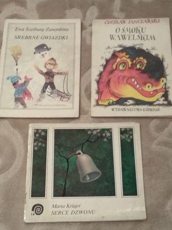Książeczki dla dzieci z Lat ubiegłych 1980 Prl
