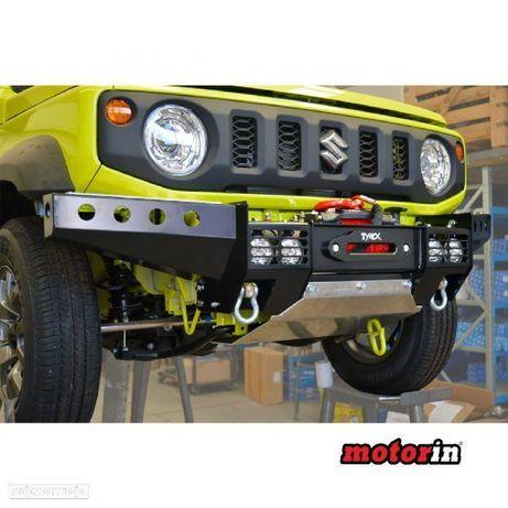 """Pára-Choques Dianteiro """"ST"""" Raptor 4×4 Jimny Sierra - Com 4 Faróis de Led Auxiliáres"""