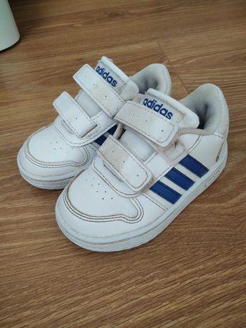 Buciki Adidas białe r.21