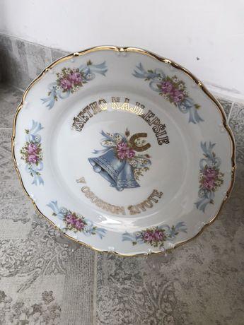 Старинные  декоративные тарелки