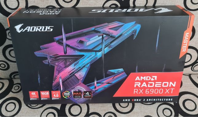 Karta graficzna Gigabyte AORUS Radeon RX 6900 XT MASTER 16 GB
