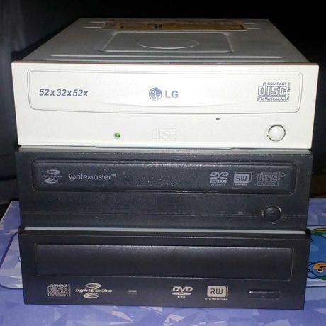 Nagrywarka DVD-RW, LG, Samsung, Toshiba + przewody połączeniowe.