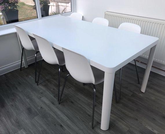 Mesa Tingby - branca - 180cm (escritorio / jantar)