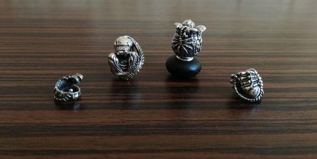 Arhaik i OHM Beads Charms Obcy Alien Zestaw Oryginał (Nowe)