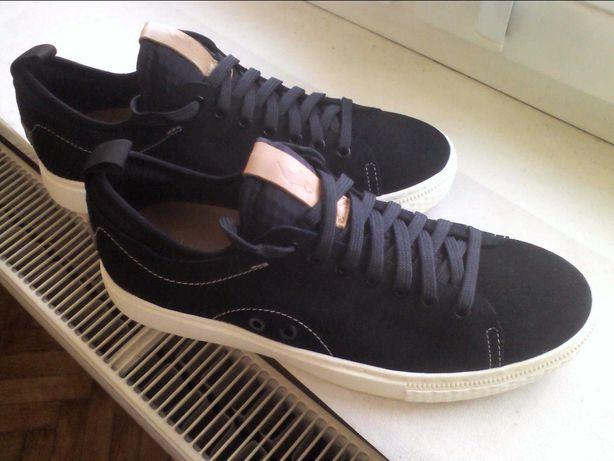 POLO Ralph Lauren buty czarne NOWE- skóra zamsz r.43 -sklep 679zł