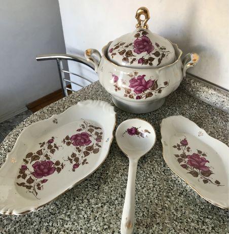 Набор столовой посуды, супник СССР