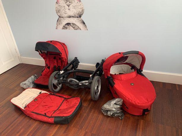 Wózek 3w1 Mutsy Evo z fotelikiem Maxi Cosi Cabrio fix