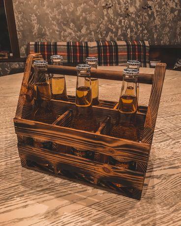 Винтажный ящик для пива