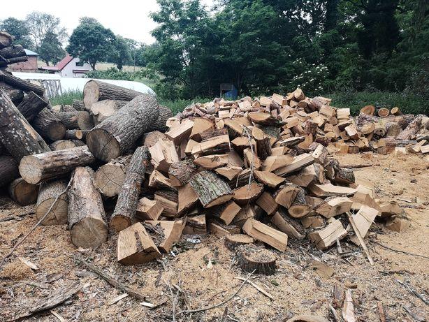 Drewno kominkowe opałowe układane choszczno Szczecin Stargard Gorzów