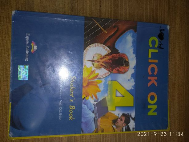 Click on 4, student's book