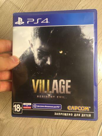 Resident evil 8: Village диск, ps4, русская
