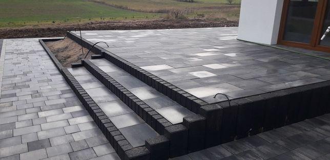 Układanie kostki brukowej , ogrodzenia panelowe ,betonowe ,schody