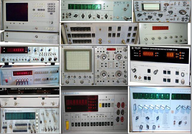 Осциллографы частотомеры лампы радиодетали