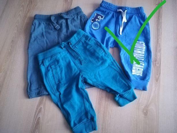 Spodnie chłopięce 68