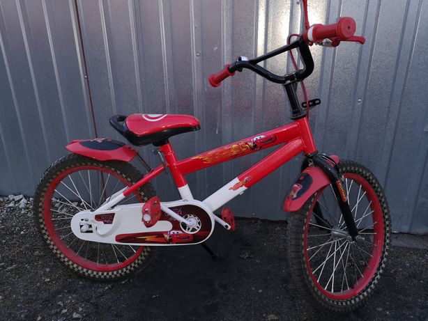 Rower, rowerek dziecięcy Zygzak McQueen, koła 18 cali mało używany