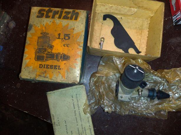 Silnik modelarski Strizh Spriż 1,5ccm radziecki