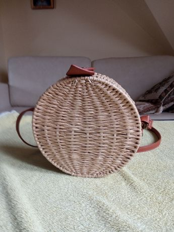 Nowa torebka z wikliny Nobo