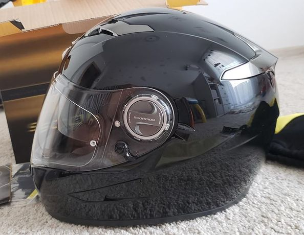 Kask Scorpion Exo - 500 Air Black Gloss XS