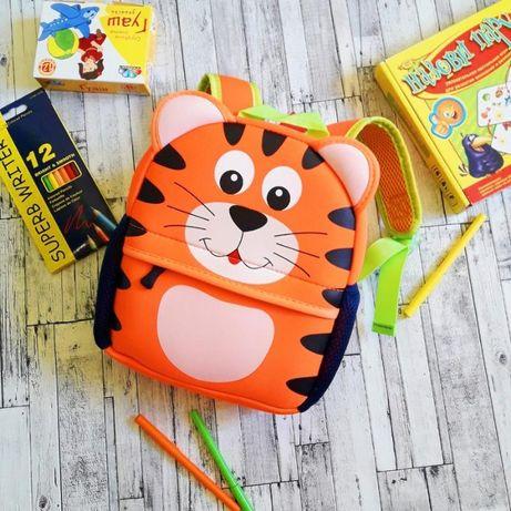 Новый детский рюкзак Tochang 3-D Тигр (Кот) 1-7 лет неопрен