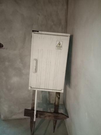 Skrzynka, rozdzielna elektryczna na budowe