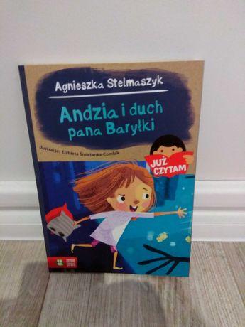 """Agnieszka Stelmaszyk """"Andzia i duch pana Baryłki"""