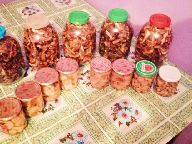 Продажа грибов белые(маринованые, сушёные)
