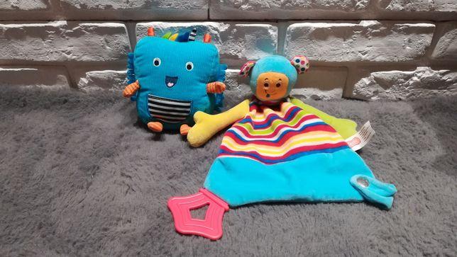 Zabawki dla niemowlaka przytulanka miś smiki