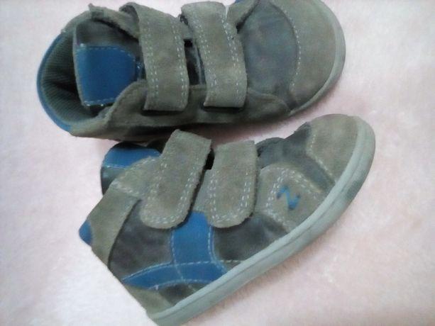 Кожаные детские ботинки PRIMIGI 22размер (13,5см стелька)
