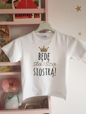 Koszulka będę starszą siostrą