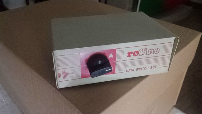 Data Switch box Roline