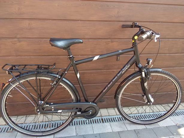 Rower męski miejski aluminium 28 dynamo rama XL