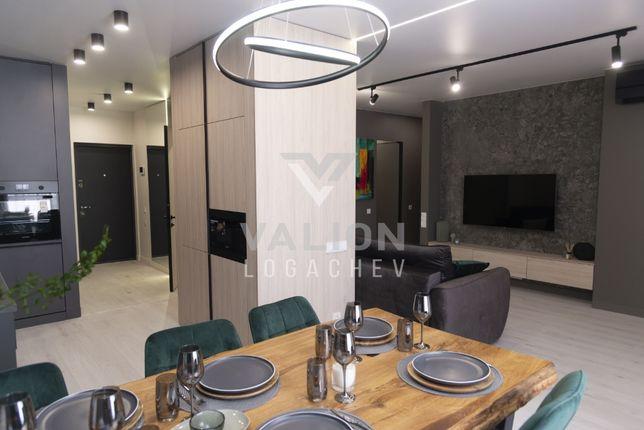 Продажа уникальной, дизайнерской квартиры в ЖК Комфорт Таун 2021г.
